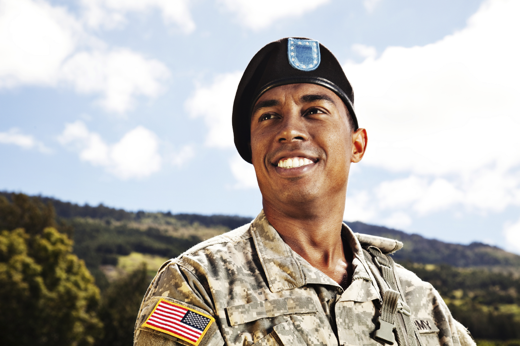image of military serviceman